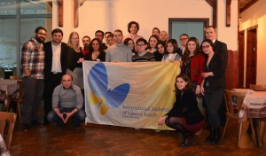 Group picture of the IFLRY Training in Georgia, February 2014