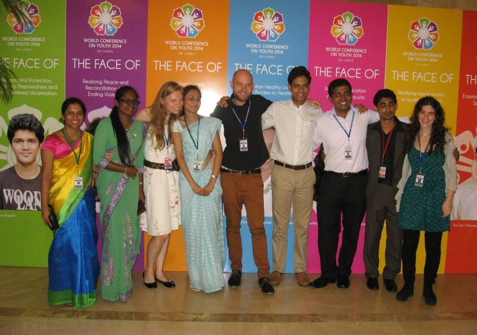 IFLRY in Sri Lanka at the World Conference on Youth 2014