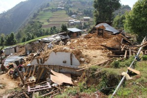 Earthquake in Nepal: Youth Initiative's relief work