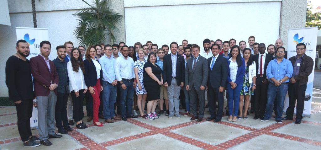 IFLRY Executive Committee & Seminar in Latin America