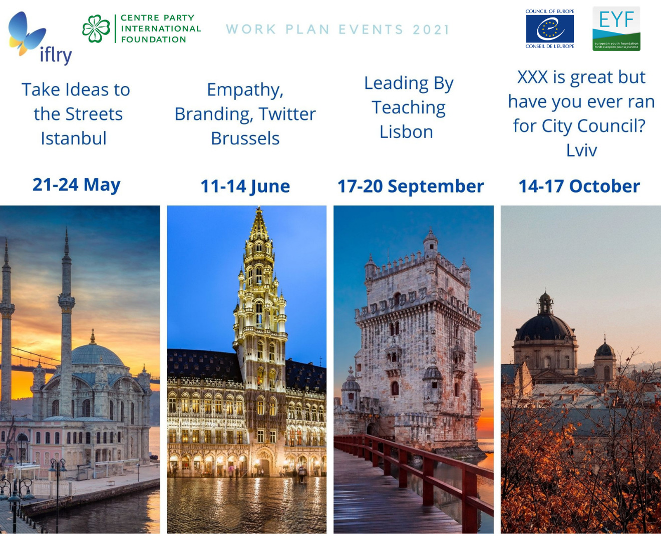 Open Call for Participants IFLRY WorkPlan 2021